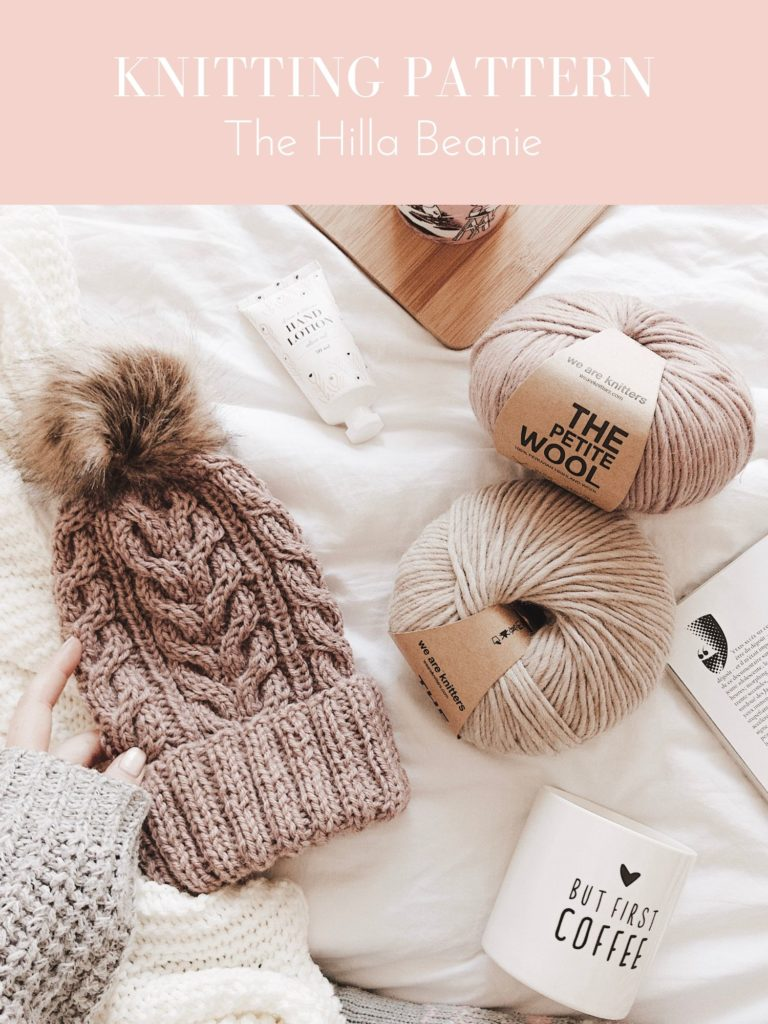 Knitting pattern: The Hilla Beanie - Katimaaria